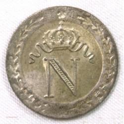 10 Centimes Napoléon I 1808 A Paris SPL/FDC
