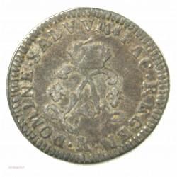 Louis XIV - 4 sols aux 2 L 1693 K BORDEAUX graveur: Tour