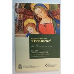 SAN MARINO 2 Euro 2013 - 500º Aniversario de la muerte de Pinturicchio (FDC)