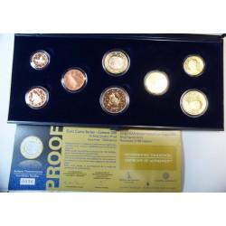 GRECE - Coffret 1 centime à 2 euro 2011 PROOF BE