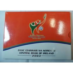 IRELAND Série euros + 5 euros 2003 BU WORLD GAMES
