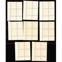 COINS DATES N° 363 à 371 Paix 1937-1939 NEUFS**
