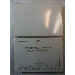 Coffret BU FRANCE 1986 Brillant Universel