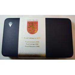 FINLANDE - Rare coffret Proof pp BE- rahasarja 2008 - SUOMI FINLAND