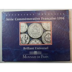 FRANCE Coffret BU Brillant Universel 1996 3 pièces