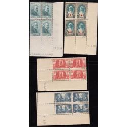 COINS DATES  Année 1939 NEUFS**  Côte 585 Euros
