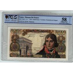10000 Francs Bonaparte 07-06-1956 D.24 AU58 Superbe