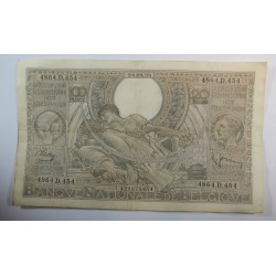 Banque BELGIQUE 100 Francs 20 Belgas 24-09-1938