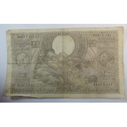 Banque BELGIQUE 100 Francs 20 Belgas 21-02-1938