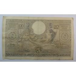 Banque BELGIQUE 100 Francs 20 Belgas 27-05-1938