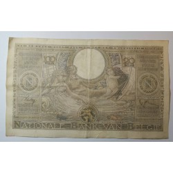 Banque BELGIQUE 100 Francs 20 Belgas 01-06-1938