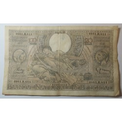 Banque BELGIQUE 100 Francs 20 Belgas 03-03-1937