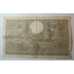 Banque BELGIQUE 100 Francs 20 Belgas 25-02-1938
