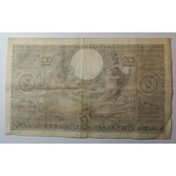 Billet de Belgique 100 Francs 20 Belgas 22-04-1938