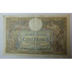 Billet de 100 FRANCS LOM 25-6-1915 F. 23.7