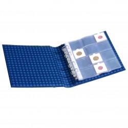 Album cadres pièces de monnaie OPTIMA, design classique + 10 pochettes transparentes