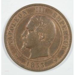 visite de Napoléon III à LILLE Module du 10 centimes 1853