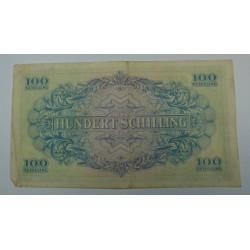 Billet d' Autriche - série 1944 100 schilling