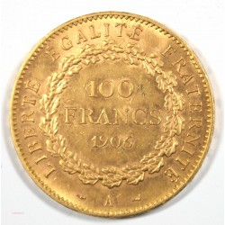 NAPOLEON III - 50 Francs or 1866 BB Strasbourg