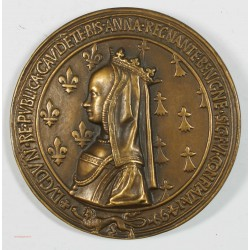 Medaille mariage du Roi Louis XII & la Reine Anne de Bretagne 1499