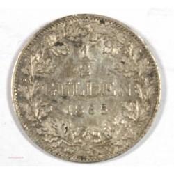 Allemagne - BAYERN 1/2 Gulden 1965