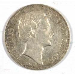 Allemagne - BAYERN 1/2 Gulden 1865, BAVIERE 1/2 FLORIN 1865
