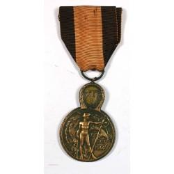 Médaille Militaire Bataille de l' Yser 17-31 octobre 1914 Belgique
