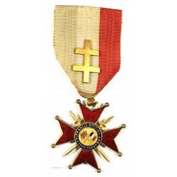 Médaille FRANCO- BRITISH 1939-1944 avec Croix de lorraine