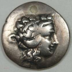 GRECQUE - TETRADRACHME Thasos Thrace 120 av JC