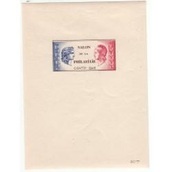 BLOC CNEP 1A SALON PHILATELIQUE C.S.N.T.P. 1946 NEUF** Côte 230 Euros