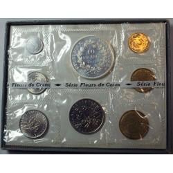Coffret 1973, Fleurs de Coins dont la 10 Francs Hercule