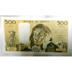 Pascal - 500 Francs 02-03-1989 M.301 Splendide