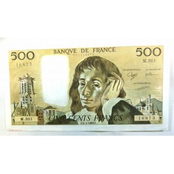 Pascal - 500 Francs 02-03-1989 M.301 SPL