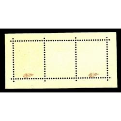 TIMBRE N°242A PAIRE SEMEUSE AVEC INTERVALLE 1927  EXPO STRASBOURG NEUF** Signé Calvès COTE 1200 Euros