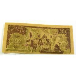 BILLET papier de riz, Vietnam 200 Dông 1950 neuf