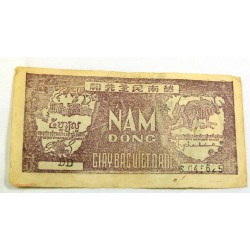BILLET, Vietnam 50 Dông 1948 TTB