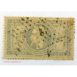 Timbre Napoléon III, 5 Francs N° 33Ad* grand 5 Signé Calves