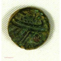 Gauloise MARSEILLE, Petit bronze à la galère, tête à gauche
