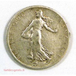 Semeuse argent - 2 Francs 1900