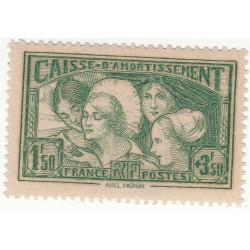 TIMBRE N°269 ANNEE 1931 NEUF SIGNE Côte 175 Euros