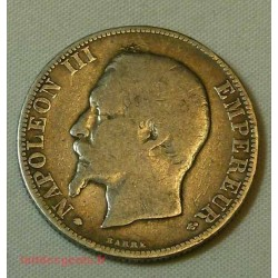 FRANCE - 2 Francs 1856-BB STRASBOURG Napoléon III
