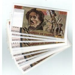Billet Neuf - 100 Francs Delacroix 1989 H.144