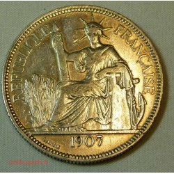 Indochine Française, 1 Piastre 1902 ARGENT