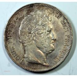 France - Ecu de 5 Francs Louis Philippe 1842 BB Strasbourg