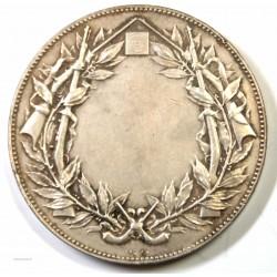Médaille Concours de Tir par Alphée Dubois argent 68 grs