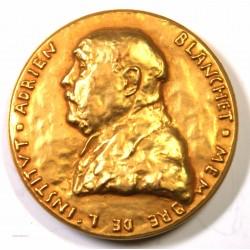 Médaille Bronze doré D' Adrien Blanchet Numismate 1947
