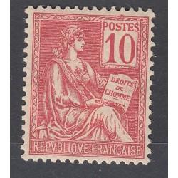 TIMBRE TYPE MOUCHON N° 116 ANNEE 1900 NEUF TBC Côte 110 Euros