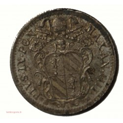 Vatican Pontifical - 10 BAIOCCHI 1850 Pie IX