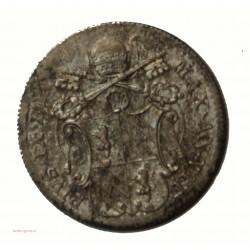 Vatican Pontifical - 5 BAIOCCHI 1852 Pie IX, argent