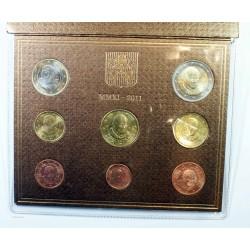 Série en Euros - Coffret BU 8 Pièces Vatican 2011